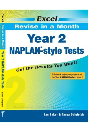 Excel - Revise in a Month - NAPLAN*-style Test: Year 2