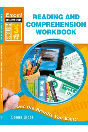 Excel Advanced Skills - Reading and Comprehension Workbook: Year 3