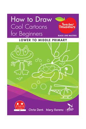 Teacher Timesavers - How to Draw Cool Cartoons for Beginners (Lower to Middle Primary)
