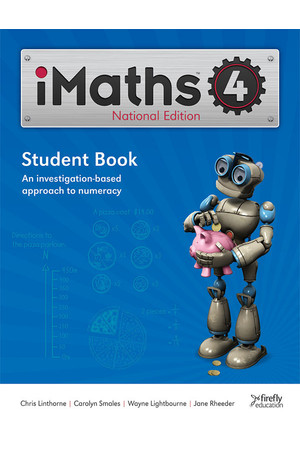 iMaths - Student Book: Year 4