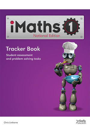 iMaths - Tracker Book: Year 1