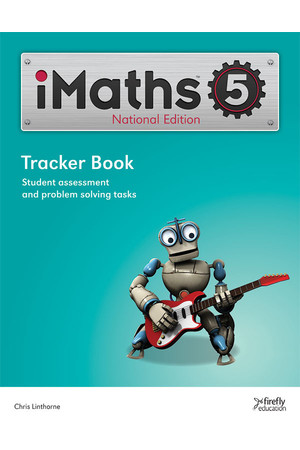 iMaths - Tracker Book: Year 5
