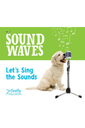 Sound Waves - Let's Sing the Sounds Audio CD
