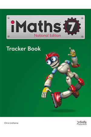 iMaths - Tracker Book: Year 7