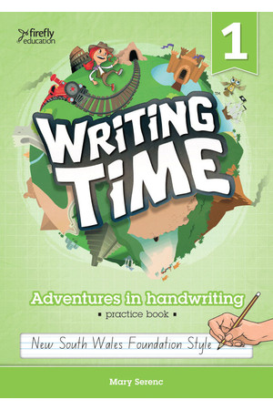 Writing Time - Student Practice Book: NSW Foundation Style (Year 1)