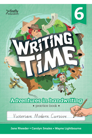 Writing Time - Student Practice Book: Victorian Modern Cursive (Year 6)