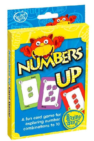 Numbers Up Card Game
