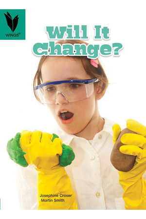 WINGS Science – Chemical Science: Will It Change? (Level 12)