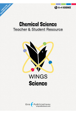 WINGS Science – Chemical Science: Digital Teacher Notes PDF (Digital Access Only)