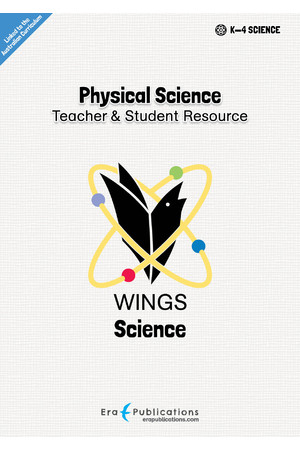WINGS Science – Physical Science: Digital Teacher Notes PDF (Digital Access Only)