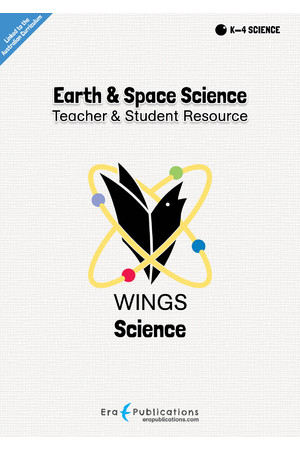 WINGS Science – Earth and Space Science: Digital Teacher Notes PDF (Digital Access Only)