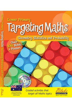 Targeting Maths - Teacher Resource Books: Lower Primary - Geometry, Statistics and Probability