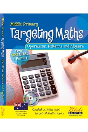 Targeting Maths - Teacher Resource Books: Middle Primary - Operations, Patterns and Algebra