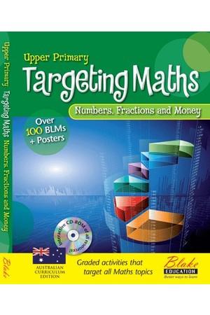 Targeting Maths - Teacher Resource Books: Upper Primary - Numbers, Fractions and Money