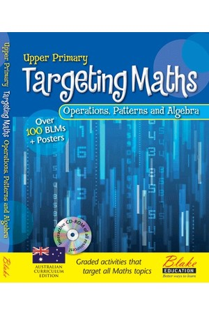 Targeting Maths - Teacher Resource Books: Upper Primary - Operations, Patterns and Algebra
