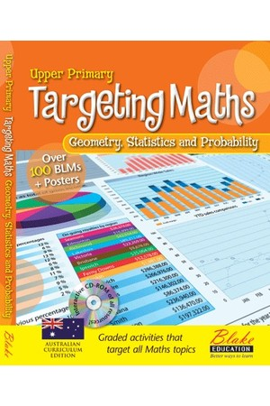 Targeting Maths - Teacher Resource Books: Upper Primary - Geometry, Statistics and Probability