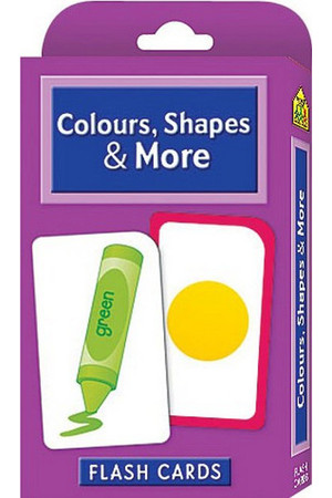 Colours, Shapes & More Flash Cards