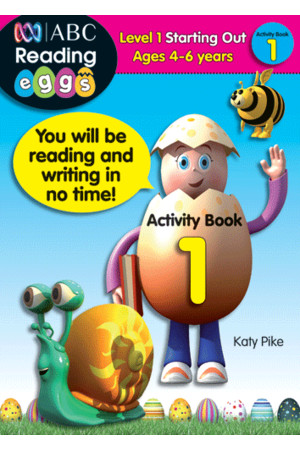 ABC Reading Eggs - Starting Out - Activity Book 1