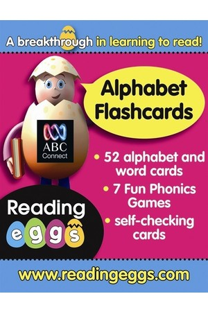 ABC Reading Eggs - Starting Out: Alphabet Flashcards