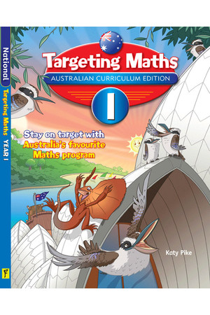 Targeting Maths Australian Curriculum Edition - Student Book: Year 1