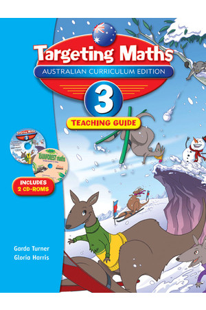 Targeting Maths Australian Curriculum Edition - Teaching Guide - Year 3