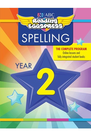 ABC Reading Eggspress - Spelling Workbooks: Year 2