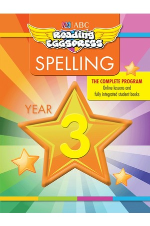 ABC Reading Eggspress - Spelling Workbooks: Year 3