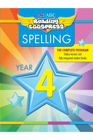 ABC Reading Eggspress - Spelling Workbooks: Year 4