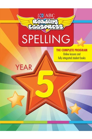 ABC Reading Eggspress - Spelling Workbooks: Year 5