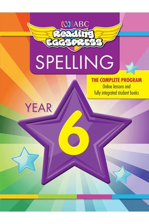 ABC Reading Eggspress - Spelling Workbooks: Year 6
