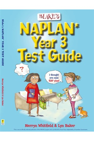 Blake's NAPLAN* Test Guide - Year 3