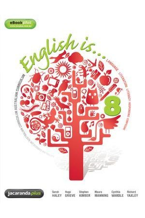 English Is... English for the Australian Curriculum Year 8 - Print & eBookPLUS