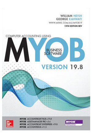 Computer Accounting Using MYOB Business Software v19.8