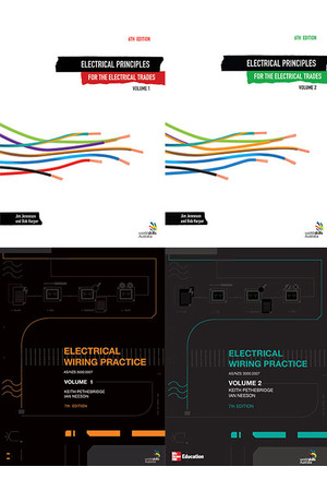 Electrical Wiring Practice + Electrical Principles for the Electrical Trades Super Pack