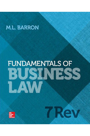 Fundamentals of Business Law: 7th Edition Revised