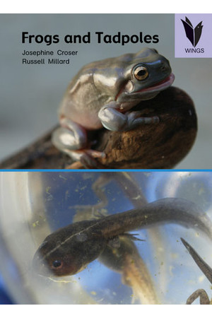 WINGS Science – Biological Science: Frogs and Tadpoles (Level 21)