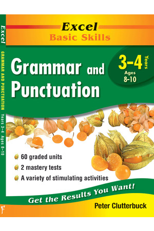 Excel Basic Skills - Grammar and Punctuation: Years 3-4