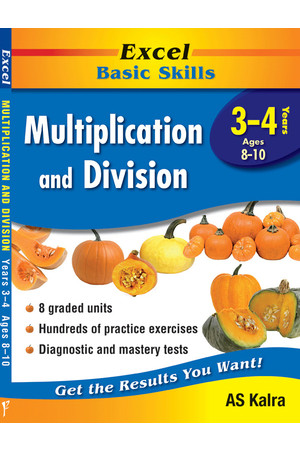 Excel Basic Skills - Multiplication and Division: Years 3-4
