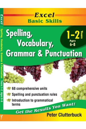 Excel Basic Skills - Spelling, Vocabulary, Grammar and Punctuation