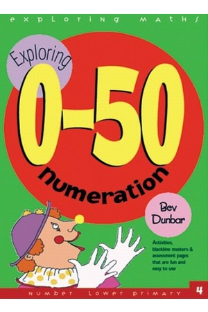 Exploring Maths - Numbers 0-50: Numeration