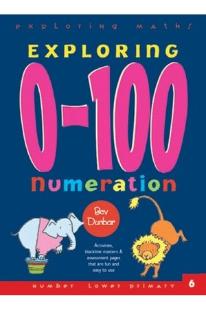 Exploring Maths - Numbers 0-100: Numeration