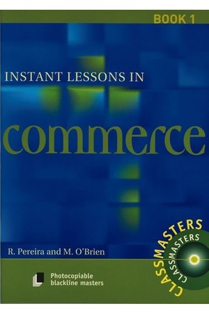 Instant Lessons in Commerce - Book 1
