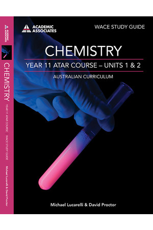 Year 11 ATAR Course Study Guide - Chemistry