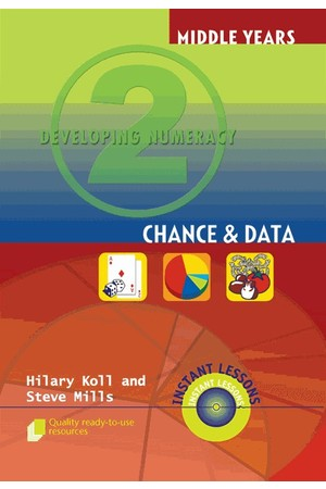 Middle Years Developing Numeracy - Chance and Data: Book 2