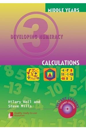 Middle Years Developing Numeracy - Calculations: Book 3