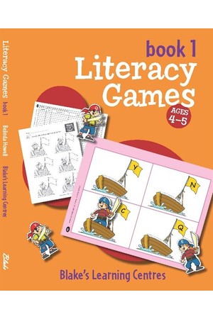Blake's Learning Centres - Literacy Games: Book 1 (Ages 4-5)