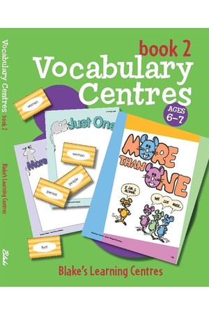 Blake's Learning Centres - Vocabulary Centres: Book 2 (Ages 6-7)