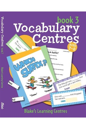 Blake's Learning Centres - Vocabulary Centres: Book 3 (Ages 7-8)