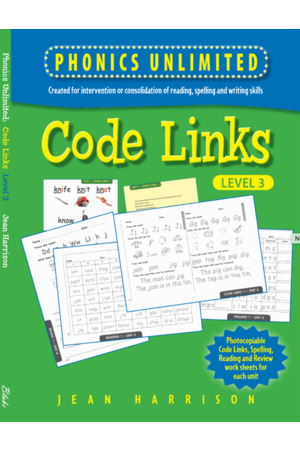 Phonics Unlimited - Code Links: Level 3