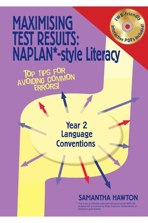 Maximising Test Results - NAPLAN*-Style Literacy: Language Conventions - Year 2